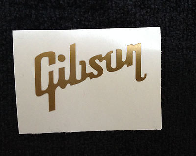1 X Guitar Headstock decal,sticker Gibson.....NEW