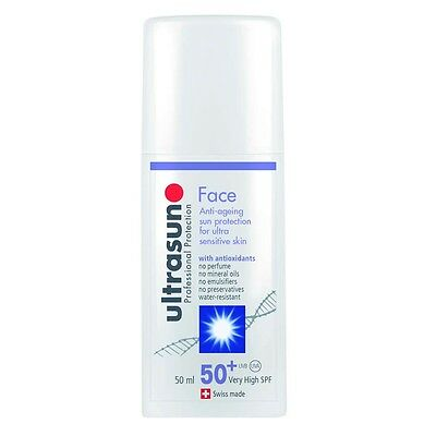 Ultrasun Face SPF50 (50ml) - Same Day Despatch - FREE P&P - Authorised Seller