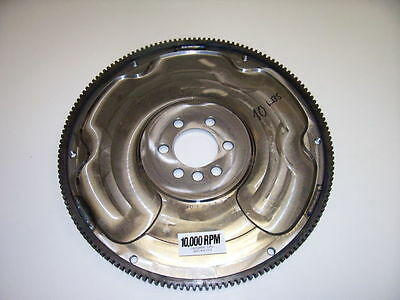 "10,000 RPM 10.5"" Steel Billet GM 602 CRATE Flywheel 10 Lbs"
