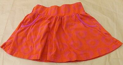"""George"" Girls Orange & Pink Skirt 5-6 Years"