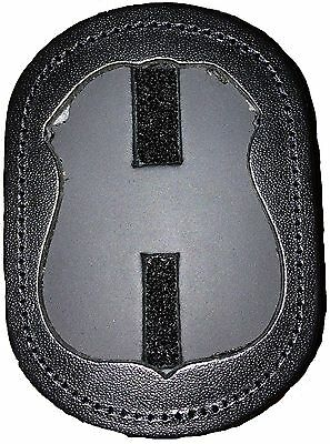 New Authentic Strong Leather Company Recessed Badge Holder Leather 81137-0852