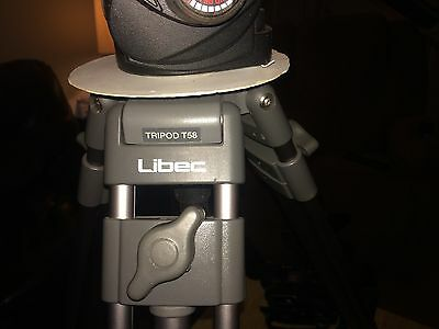 Libec T58 Tripod.with HdV Fluid head With Case