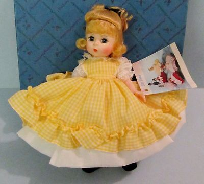 """MADAME ALEXANDER LITTLE WOMEN """"AMY"""" ITEM #411 STORYBOOK COLLECTION 1983 MIB!!"""
