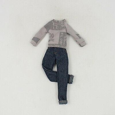 """3PC 12/"""" Blythe Doll Factory  Blythe/'s casual outfit Outfit JS92-1"""