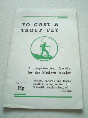 """to Cast A Trout Fly"" Published By Hardy And Farlow's Used To Advertise"