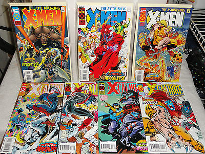 Marvel Age Of Apocalypse 14 Book Lot X-Men X-Calibre Factor Weapon X Universe Vf