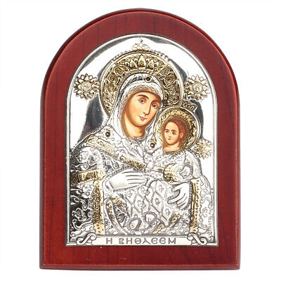 NEW Clarte Icon Holy Virgin Mary Of Bethlehem 7cm