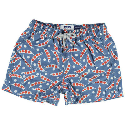 NEW Love Brand Boys' Two Peas in a Pod Swim Shorts 1-3 Years