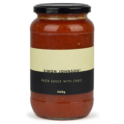NEW Simon Johnson Pasta Sauce with Chilli 560g