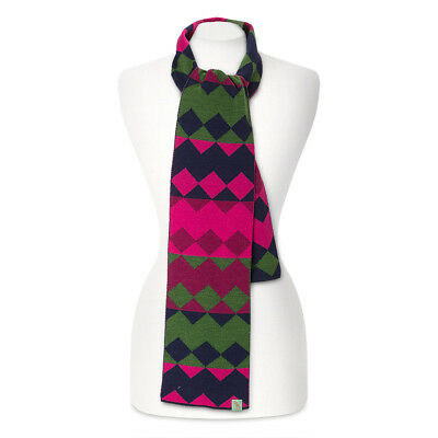 NEW Otto & Spike Harlequin Purple Scarf