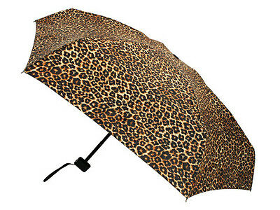 NEW Clifton Safari Pocket Sized Umbrella Cheetah