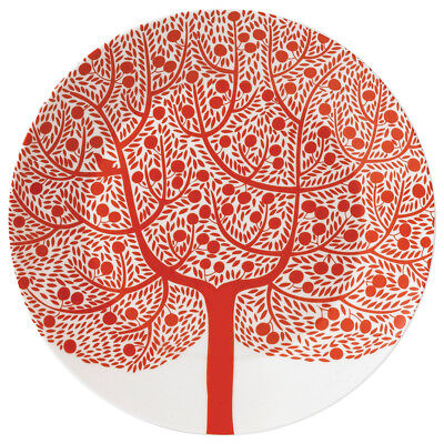 NEW Royal Doulton Fable Accent Red Tree Plate