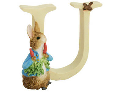 NEW Beatrix Potter Alphabet Initial U Peter Rabbit