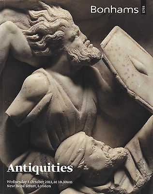 Antiquities auction catalog Bonhams 2011
