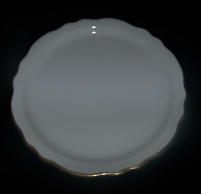 """Homer Laughlin Best China Ivory with Gold Trim Chop Plate/.Round Platter 12"""""""