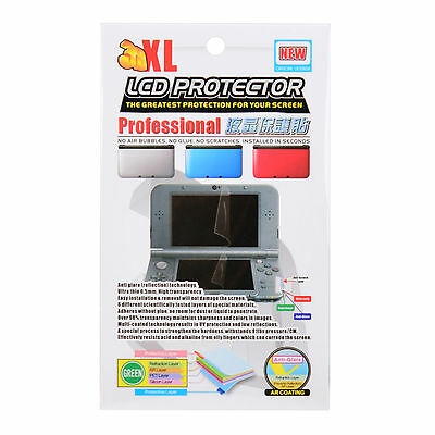 Project Design Clear Screen Protector for Nintendo New 3DS XL