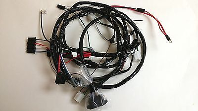 1965 impala belair biscayne forward front light harness 1967 impala belair caprice forward front light wiring harness gauges ss t78