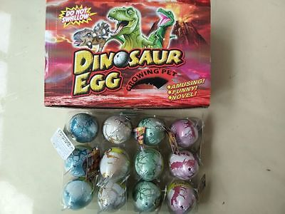 """1Pcs large Growing Dino Egg 2.5 """"Dinosaur Eggs Add Water Toys Gift"""