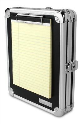 Locking Metal Storage Clipboard, Hanging Security Sturdy Lock Organizer Case
