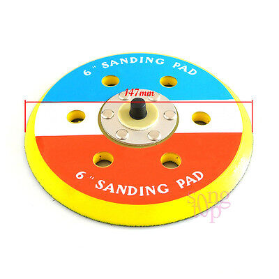 "New 6"" Dual Action Random Orbital Sanding Pad Fits For Air Sander 12000RPM"