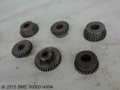 Browning Nss2436, Lot Of 6  Gears Assorted Sizes, All With Same Pitch