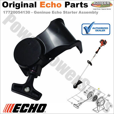 17720054130 Echo Recoil Starter Assembly - Original Echo Part - Ready to Install