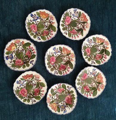 Set of 7 Myott Son & Co England's Peasantry Bowls Cereal or Soup
