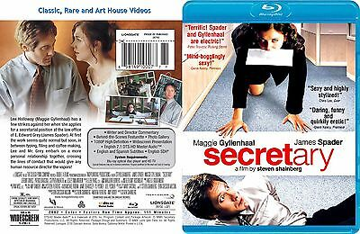 Secretary ~ New Blu-ray ~ James Spader, Maggie Gyllenhaal (2002) LGE