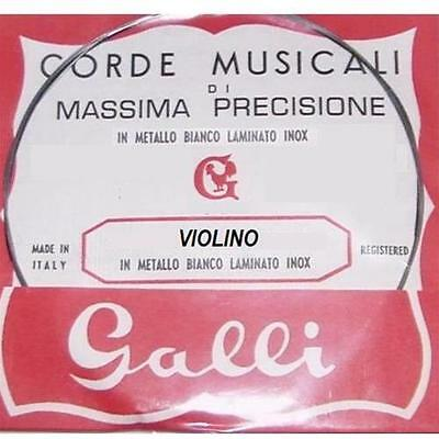 GALLI Corda per Violino RE-3-D (Di massima Precisione)