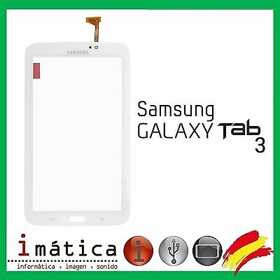 "Pantalla Tactil Samsung Galaxy Tab 3 7"" T210 P3210 Version Wifi Blanco Blanca"