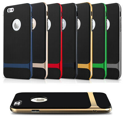 Silikon Case f. Apple iPhone 5 6S 6 7 Plus Handy Tasche Bumper Schutz Hülle Etui