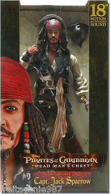 POTC JACK SPARROW DEAD MAN´S CHEST 45cm action-figure Neca