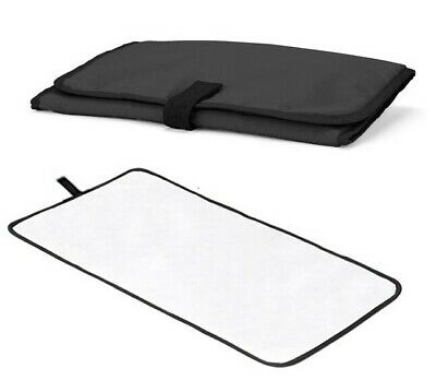 New Travel Changing Mat Black