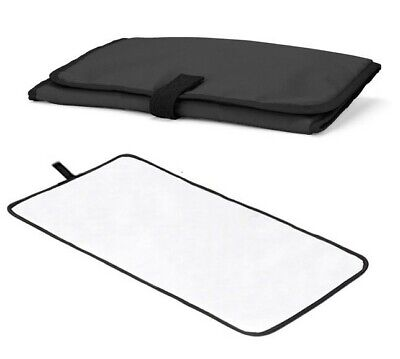 Travel Changing Mat Waterproof Black