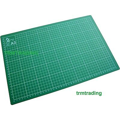 A3 Cutting Mat Non Slip Printed Grid Lines Knife Board Crafts Models