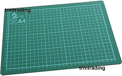 A4 Cutting Mat Non Slip Printed Grid Lines Knife Board Crafts Models