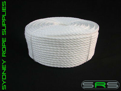100Mtrs X 14Mm Pe Silver Rope