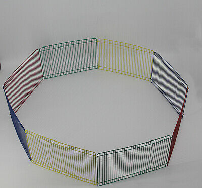 Pet Playpen Guinea pig Hamster Mini Play Pen Cage Small Run Fence