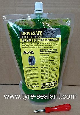 Heavy Duty Tyre Sealant Suitable For Ride On Lawn Mower, Quad, Atv