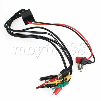 DC Power Supply Output Interface Cable Phone Repair Multimeter Test Lead Probe