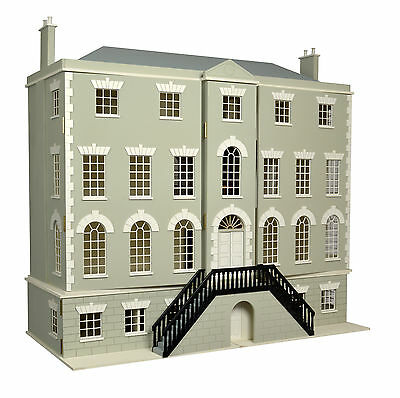 Preston Manor Dolls House and Basement  Unpainted  Kit 1:12 Scale