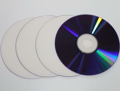 4 pack Blank full Hub Printable 240min DVD+R DL 8x Dual Layer 8.5GB D9 DVD DL