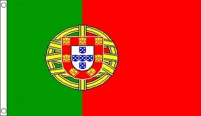 HUGE 8ft x 5ft Portugal Flag Massive Giant Portuguese Flags