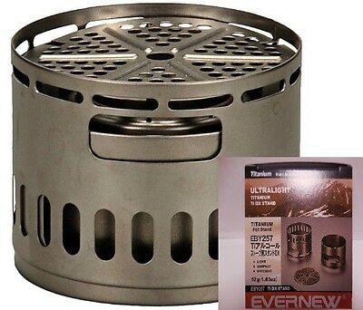 EVERNEW EBY257 Ti Stand DX Titanium Stove Accessory Japan New