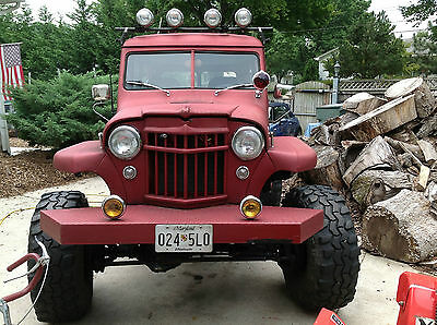 Jeep : Other  willys wagon 1956 jeep willys wagon on steroids