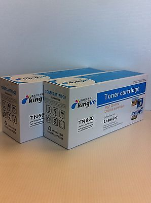 2PK Compatible Toner for Brother TN-660 TN660/630  MFC-L2700DW L2720DW L27440DW