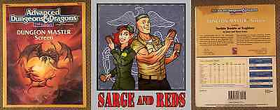 Dungeon Master Screen 9263  Advanced Dungeons & Dragons   ✰Sarge &  Red's✰