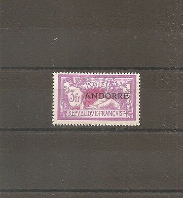 Timbre Andorre Andorra 1931 N°20 Neuf** Mnh