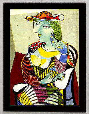 Pablo Picasso Marie Therese Walter framed canvas print art reproduction poster