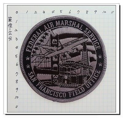 FEDERAL AIR MARSHAL SERVICE SAN FRANCISCO FIELD OFFICE SEW-ON PATCH